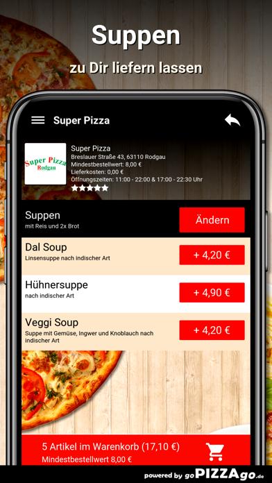Super-Pizza Rodgau screenshot 5