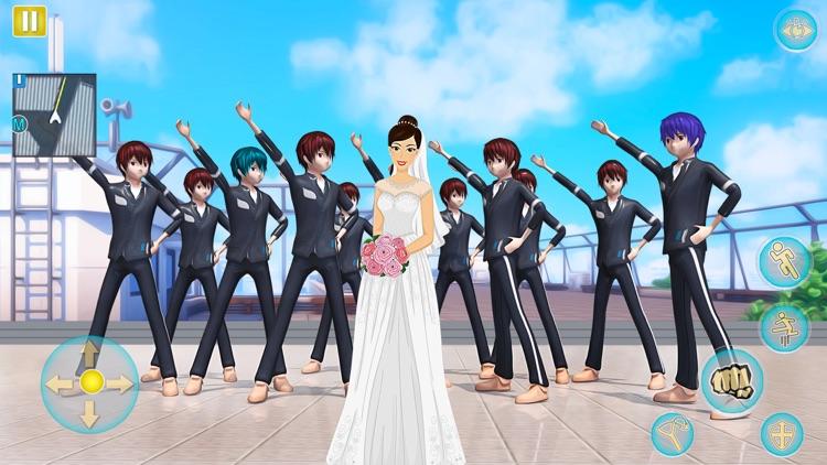 Anime Girl Yandere School Life screenshot-8
