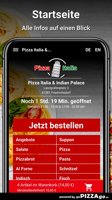 Pizza Italia & Indian Palace screenshot 2