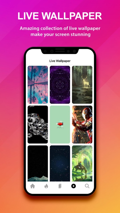 Live wallpapers - Walli fly