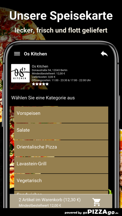 Os Kitchen Berlin screenshot 4