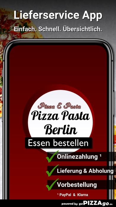 Pizza e Pasta Berlin screenshot 1