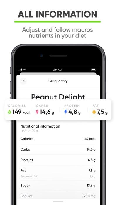 Nutrition Coach - Food tracker screenshot 4