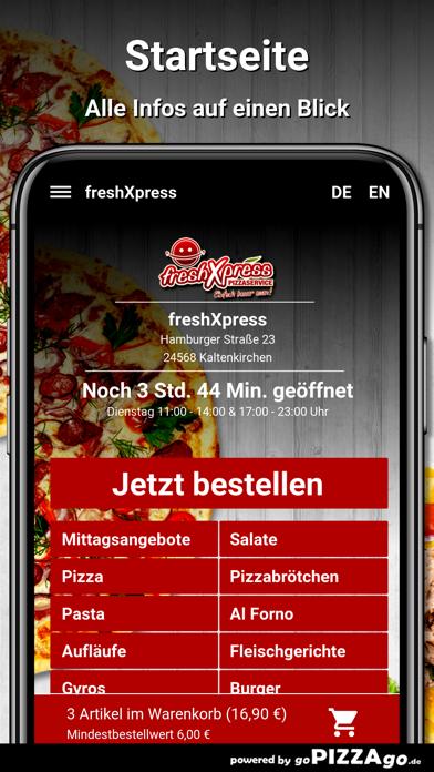 freshXpress Kaltenkirchen screenshot 2