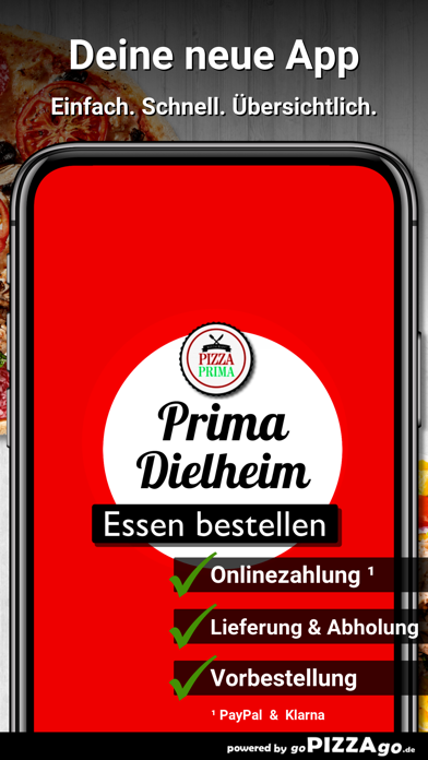 Pizza Prima Dielheim screenshot 1