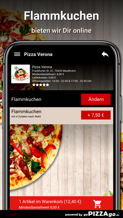 Pizza Verona Maulbronn screenshot 5
