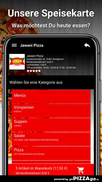 Jawani Pizza Bietigheim screenshot 4
