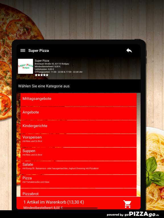 Super-Pizza Rodgau screenshot 8