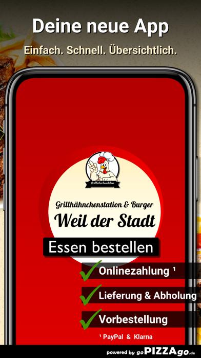 Grillhähnchenstation & Burger screenshot 1
