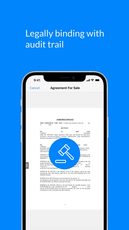 SignEasy - Sign and Fill Docs screenshot-6