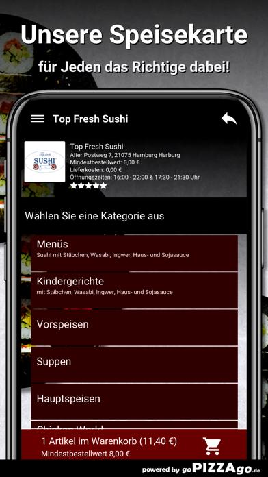 Top Fresh-Sushi Hamburg screenshot 4