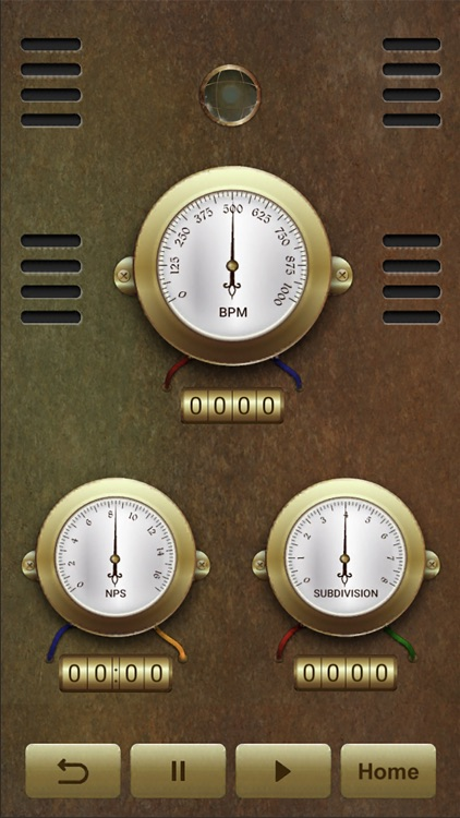Steampunk Metronome