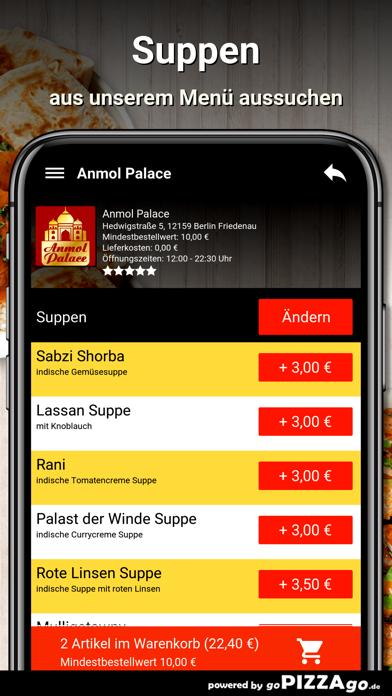 Anmol Palace Berlin Friedenau screenshot 5