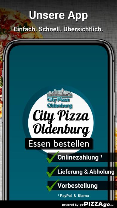 City-Pizza Oldenburg screenshot 1