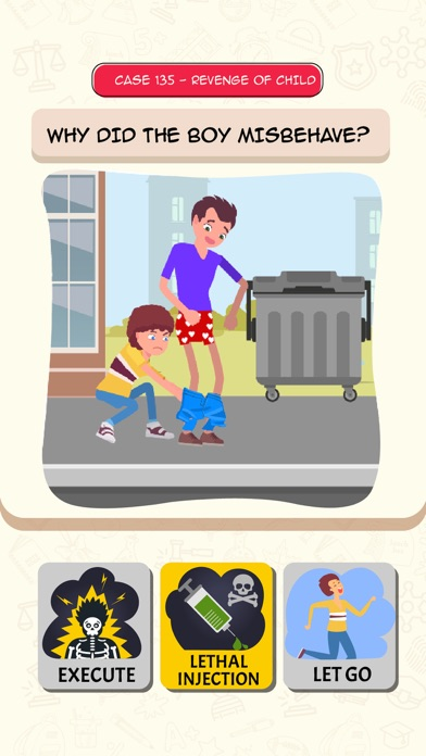 Be The Judge - Ethical Puzzles screenshot 4