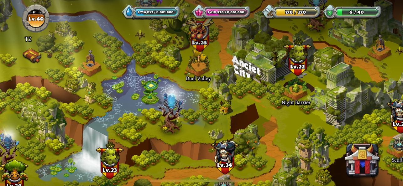 New RTS Game Immerses Players in a Fantasy World Ruled by Mutant Jungles Image