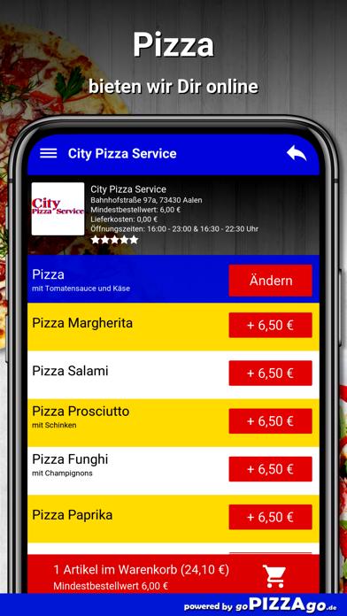 City Pizza Service Aalen screenshot 5