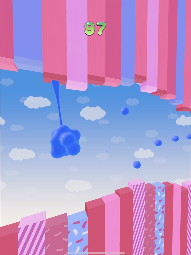 Blob Hook, game for IOS