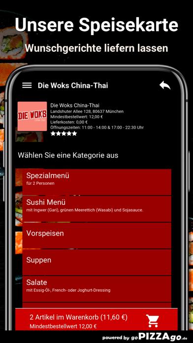 Die Woks China-Thai München screenshot 3