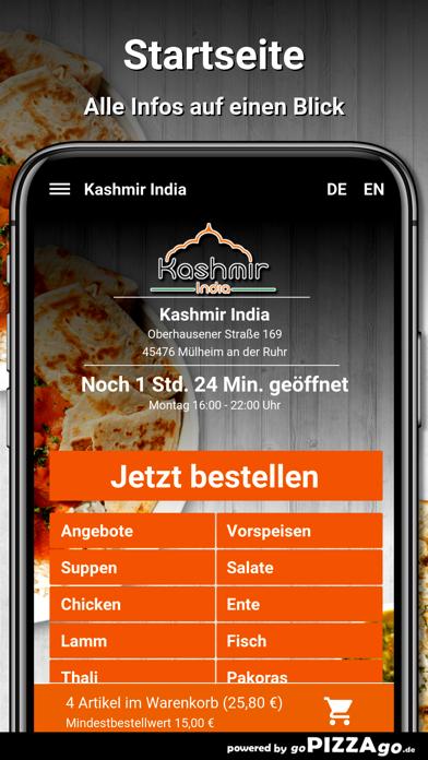 Kashmir India Mülheim screenshot 2