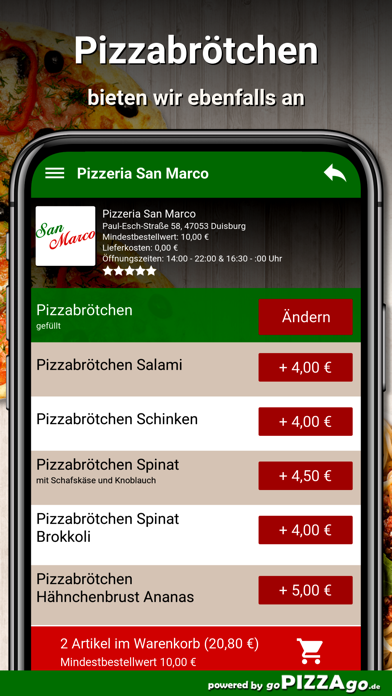 Pizzeria San Marco Duisburg screenshot 4