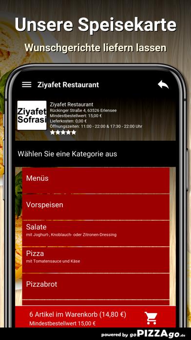 Ziyafet Restaurant Erlensee screenshot 4
