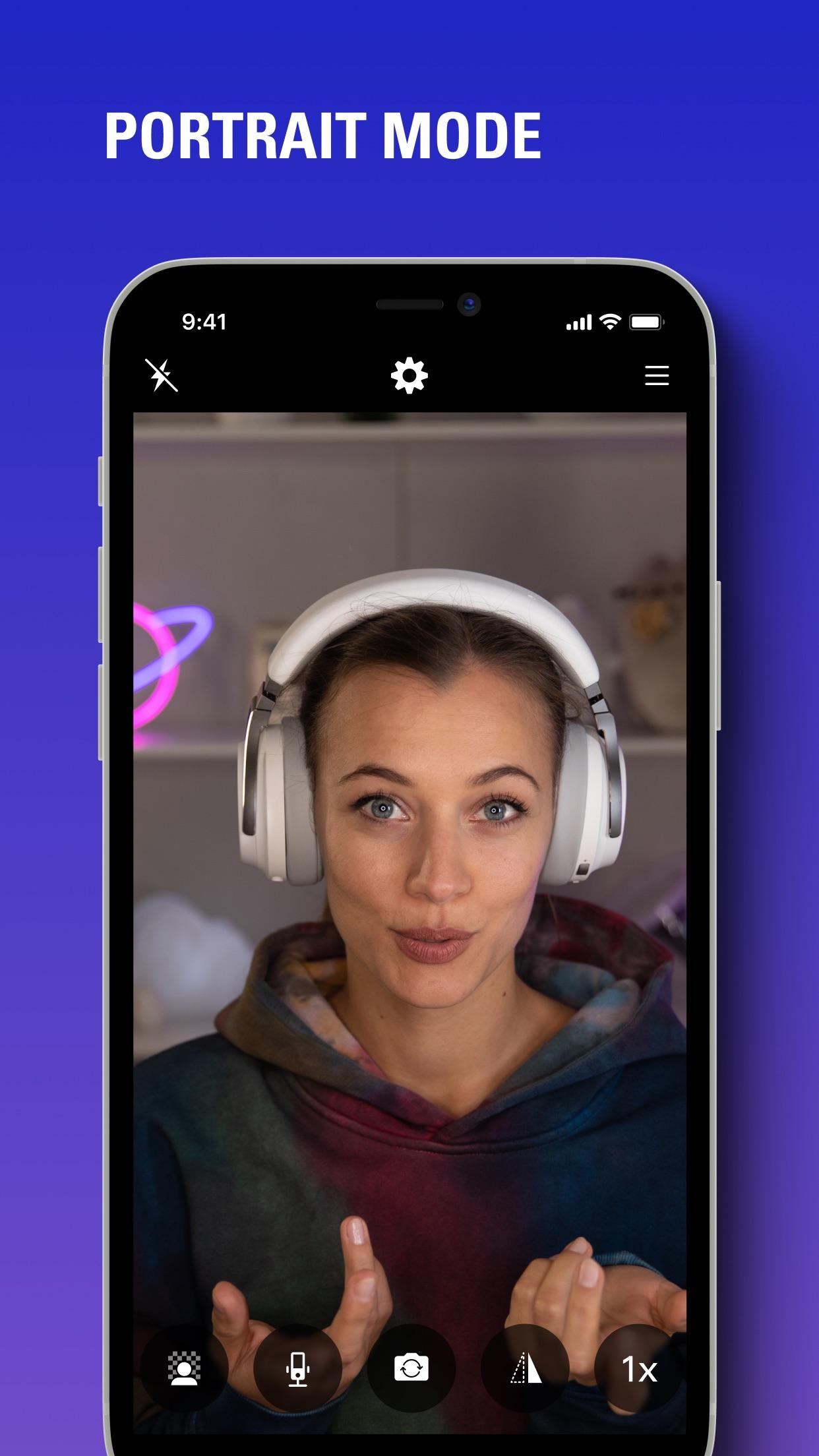 Screenshot do app EpocCam Webcam for Mac and PC