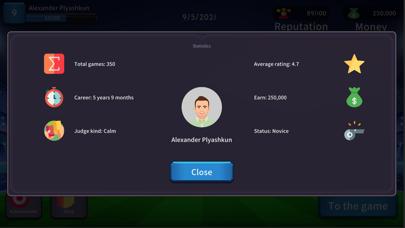 Screenshot 2 of Football Referee Simulator App
