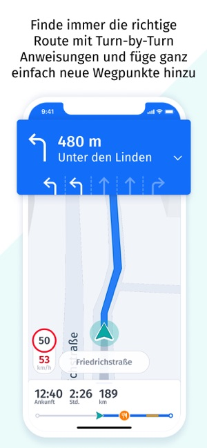 ?HERE WeGo Karten & Navigation Screenshot