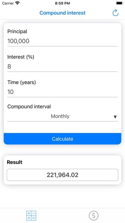 Compound Interest, Savings