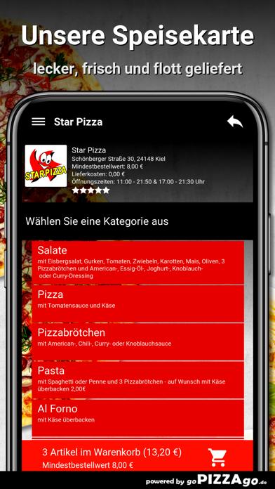 Star Pizza Kiel screenshot 4