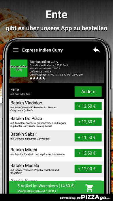 Express Indien Curry Berlin screenshot 6