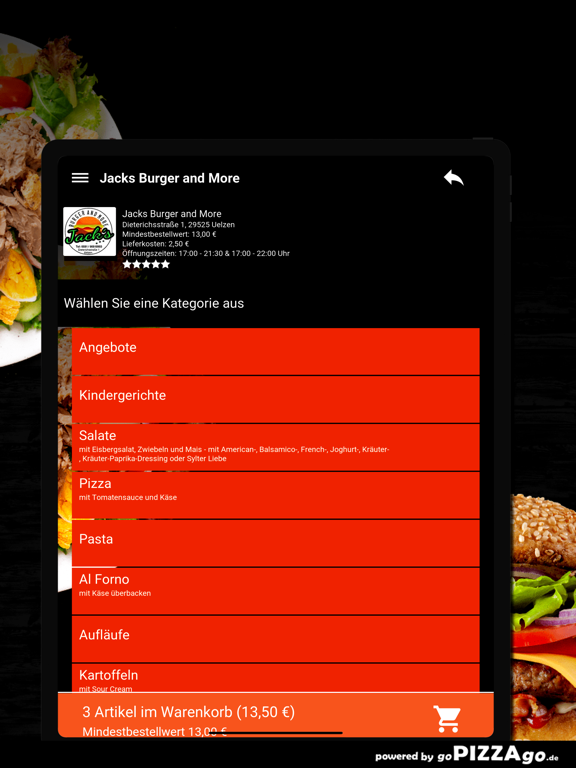 Jacks Burger and More Uelzen screenshot 8
