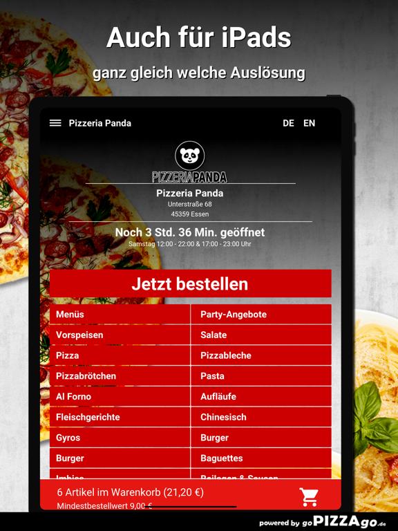 Pizzeria Panda Essen screenshot 7