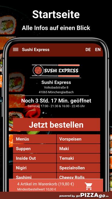 Sushi Express-Mönchengladbach screenshot 2