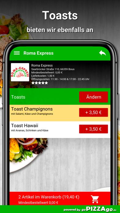 Roma Express Bous screenshot 6