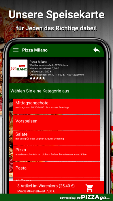 Pizza Milano Jena screenshot 4