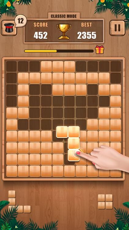 Wooden 100 Block - Hexa Puzzle screenshot-4