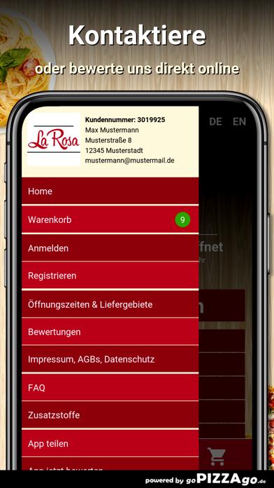 Pizza La Rosa Berlin screenshot 3