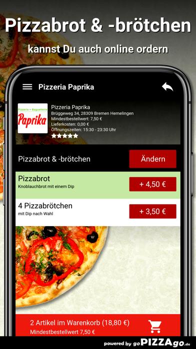 Pizzeria Paprika Bremen Hemeli screenshot 5