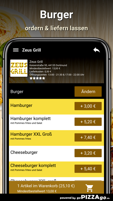 Zeus Grill Dortmund screenshot 6