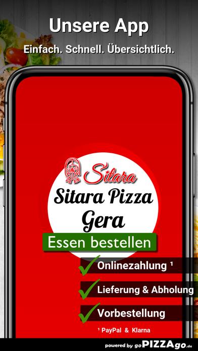 Sitara Pizza Service Gera screenshot 1