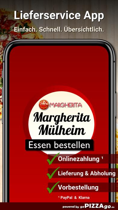 Pizzeria Margherita Mülheim screenshot 1