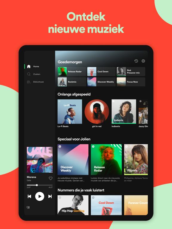 Spotify - Muziek en podcasts iPad app afbeelding 5