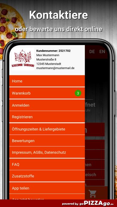 Kaschmir Tandoori 1 Heidelberg screenshot 3