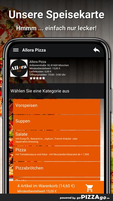 Allora Pizza München screenshot 4