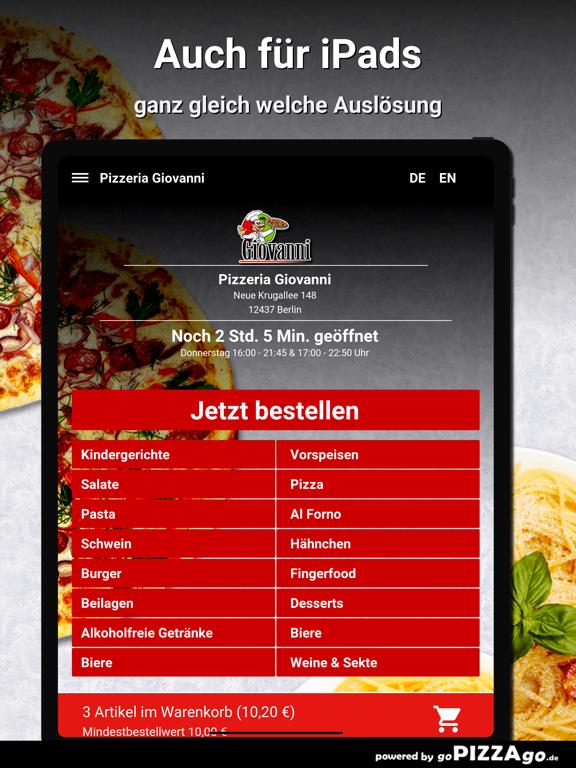 Pizzeria Giovanni Berlin screenshot 7