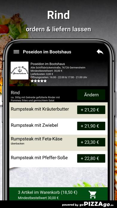 Poseidon im Bootshaus Germersh screenshot 6