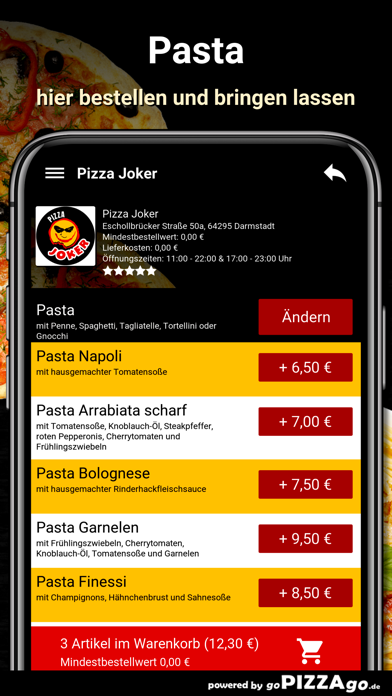 Pizza Joker Darmstadt screenshot 6