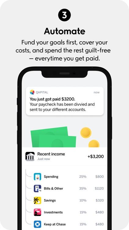 Qapital: Find Money Happiness screenshot-3